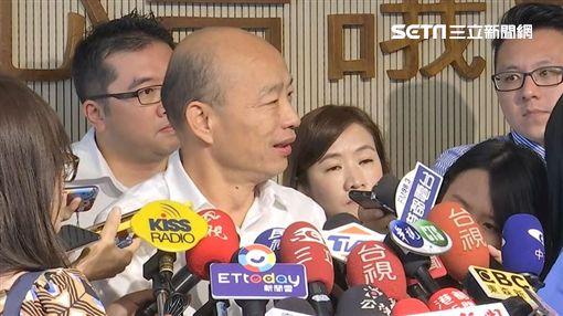 0924韓國瑜市政會議後受訪