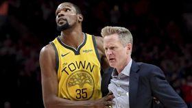 NBA/KD轟勇士體系無用!柯爾說 NBA,季後賽,金州勇士,Kevin Durant,Steve Kerr 翻攝自推特