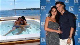 ▲C羅(Cristiano Ronaldo)和女友喬治娜(Georgina Rodriguez)。(圖/翻攝自C羅IG)
