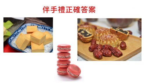 北市伴手禮漢餅、台北甜心 王鴻薇提供
