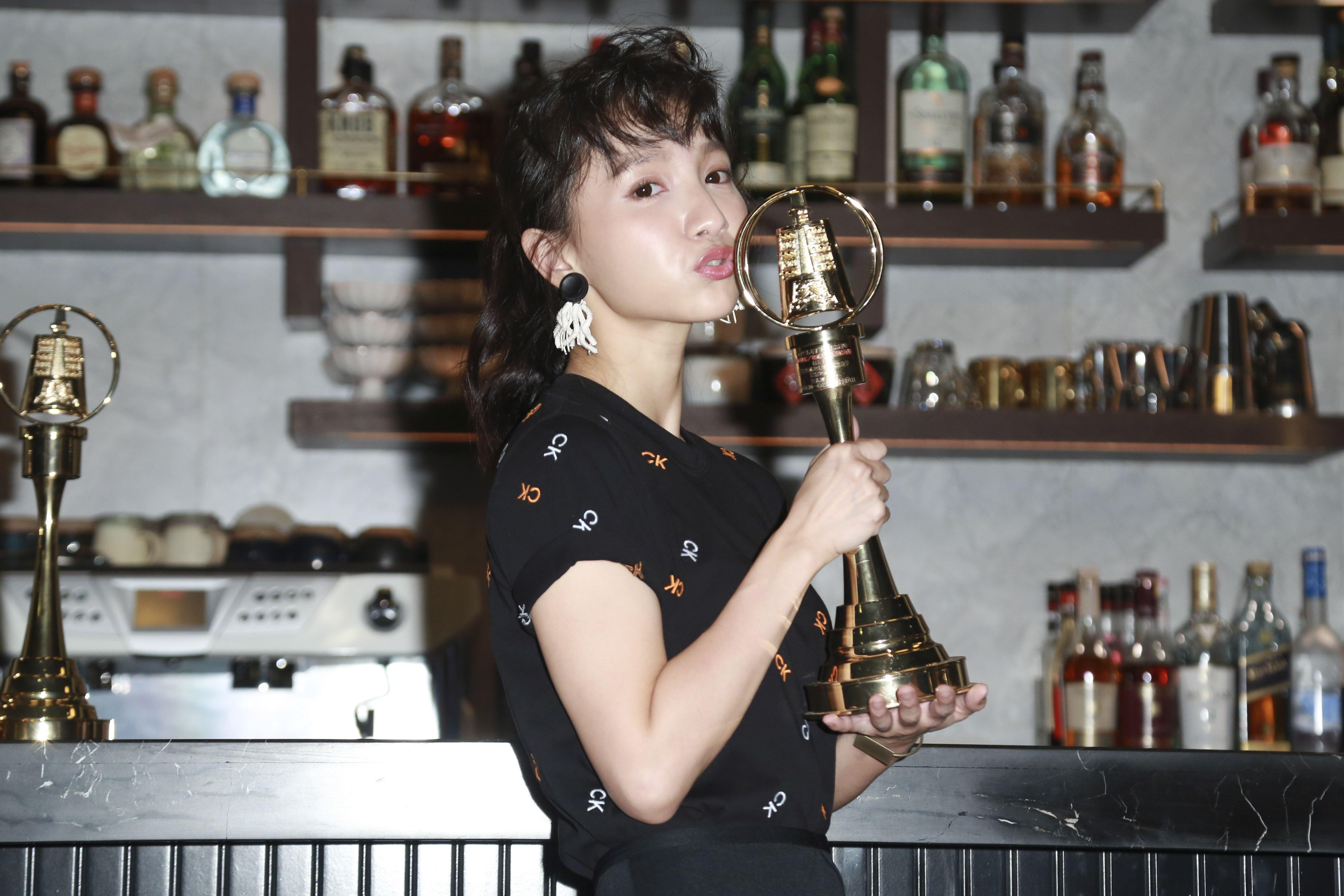 《日據時代的十種生存法則》演員張寗入圍金鐘獎女配角獎。(圖/記者林士傑攝影)