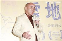 尼泊爾首都加德滿都之雪地之光創辦人祖古仁欽仁波切出席首映會。(圖/記者林士傑攝影)