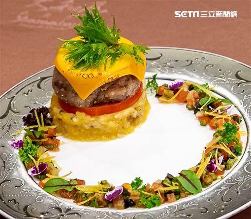 南法起司豬肉丸子佐香料橄欖油醬 (關保祐主廚提供)