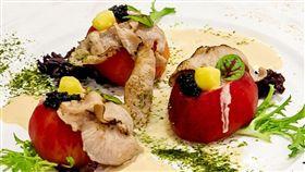松阪豬日式胡麻風味(洪上程主廚提供)