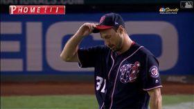 ▲薛澤(Max Scherzer)6局挨2轟。(圖/翻攝自MLB官網)