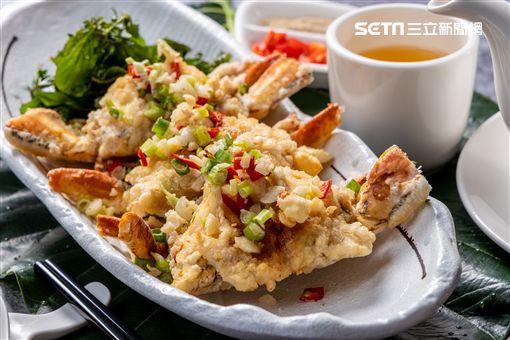 小吃,福容大飯店花蓮,蔡坤城,福園中餐廳,炸彈蔥油餅,夜市,炸螃蟹