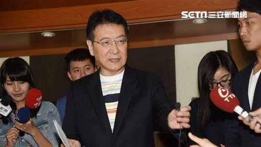 趙少康0925照開記者會控告李登輝 記者李依璇攝影