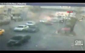 土耳其,安卡拉,伊斯坦堡,炸彈攻擊(圖翻攝自CNN Turk推特)