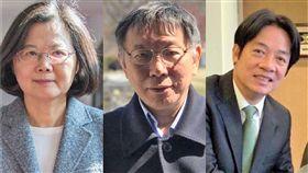 沈嶸通靈柯文哲內心後發現,他認為蔡英文、賴清德選總統都不是他的對手。(圖/翻攝自臉書)