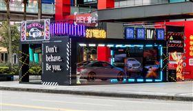 ▲The new CLA 街頭展示會。(圖/Mercedes-Benz提供)