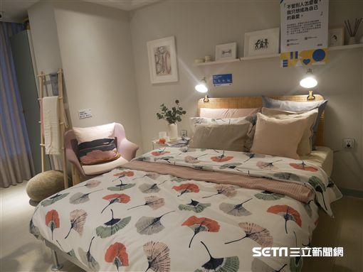 IKEA快閃旅店。(圖/記者馮珮汶攝)
