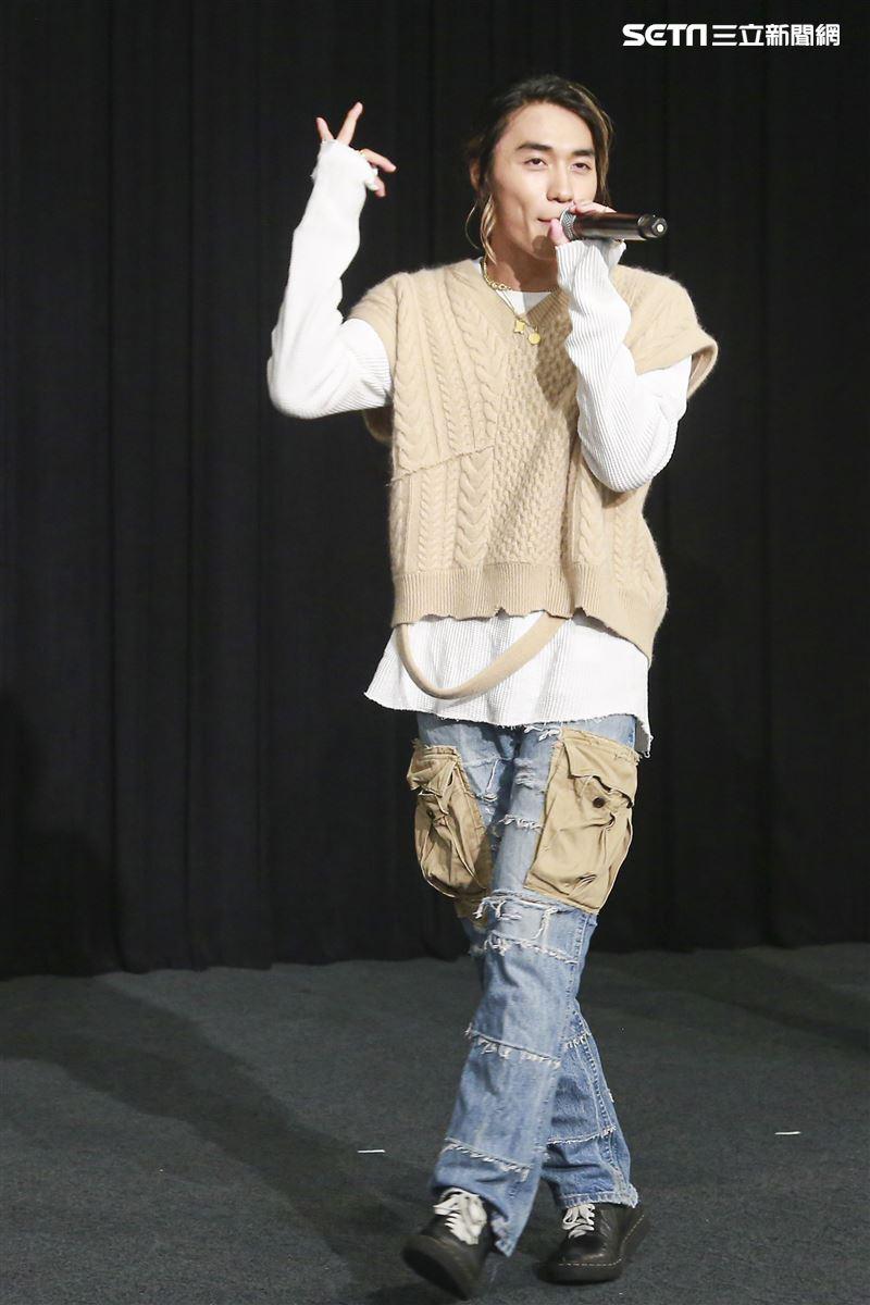 Ballistik Boyz安安大明星第400集慶祝。(圖/記者林士傑攝影)
