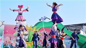 桃園,農業博覽會,假日歌舞劇,看見,桃園之美(圖/中央社)