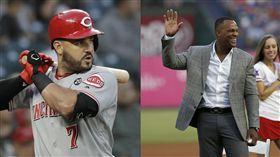 ▲蘇瓦瑞茲(Eugenio Suarez)敲出本季第49號全壘打,超越名將貝爾崔(Adrian Beltre)寫下國聯三壘手紀錄。(圖/美聯社/達志影像)