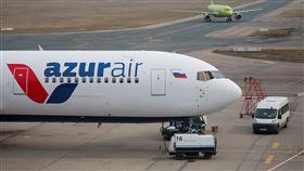 俄羅斯客機,重落地,著火,醫療援助,無人傷亡(圖/路透社/達志影像)