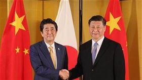 美日貿易協定,川普,安倍晉三,宣布,第一階段(圖/日本首府官邸推特)