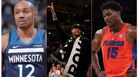 NBA/籃網一日兩簽!甜瓜繼續失業 NBA,布魯克林籃網,Carmelo Anthony,John Egbunu,C.J. Williams 翻攝自推特