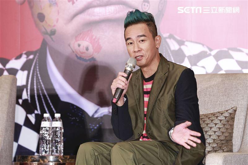 陳小春STOP ANGRY巡迴演唱會台北站啟動記者會。(圖/記者林士傑攝影)