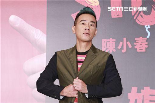 陳小春演唱會宣傳記者會記者林士傑攝影