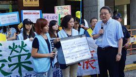 長榮裁決前 罷工 靜坐 記者 唐家興 攝影