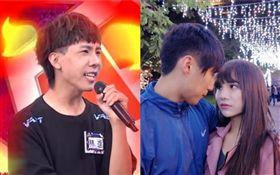 林進吐槽小A辣與男友王聖富。(翻攝自YouTube)