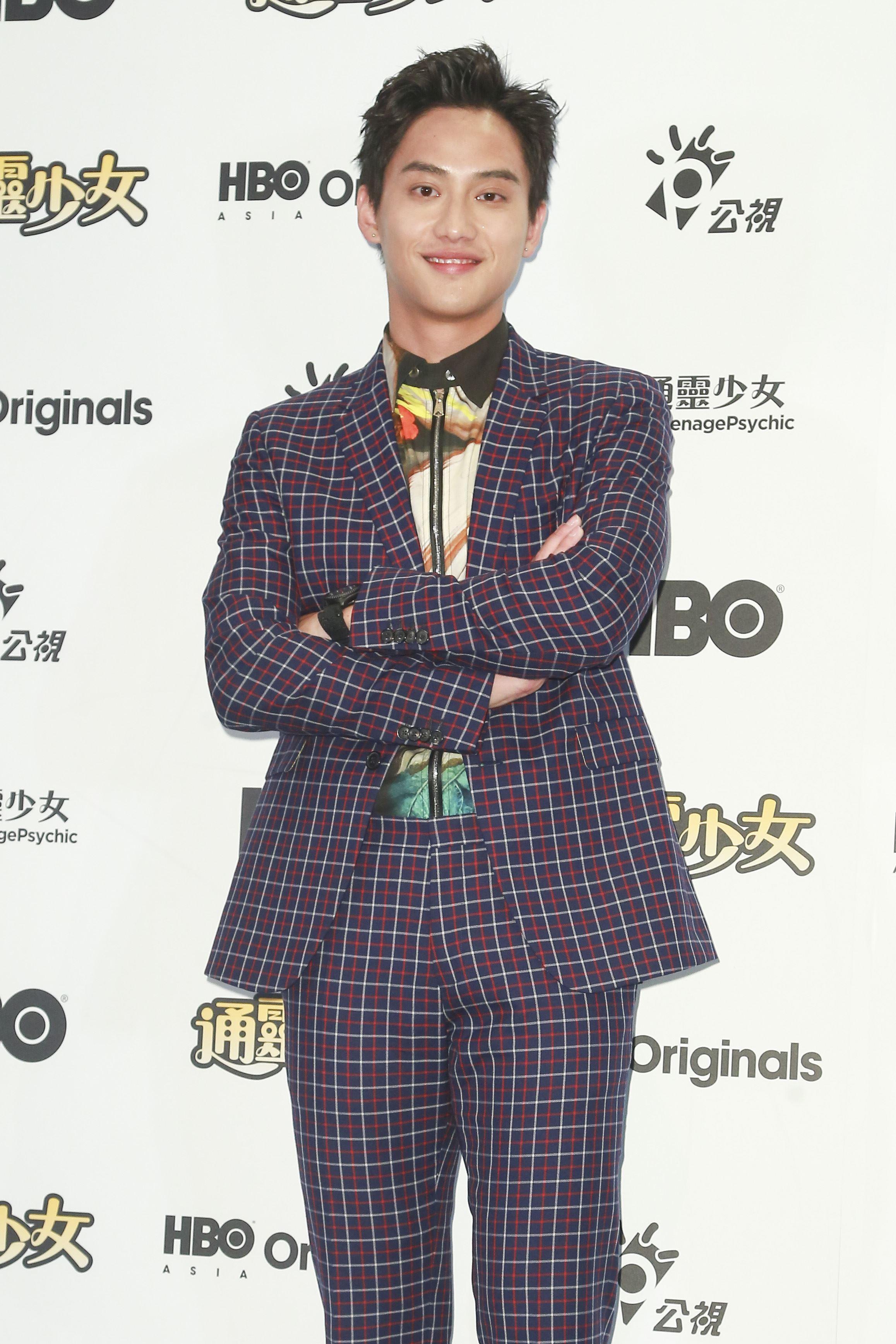 《通靈少女》第二季記者會出席演員范少勳。(圖/記者林士傑攝影)