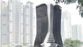 名家專用/MyGonews/儒鴻企業新莊副都心企業總部,規劃地下4層樓、地上19層建築。圖/儒鴻企業提供(勿用)