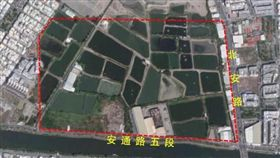 安南區發展新亮點、新核心,37公頃「商60」商業區細部計畫公告發布實施(圖/台南市政府)