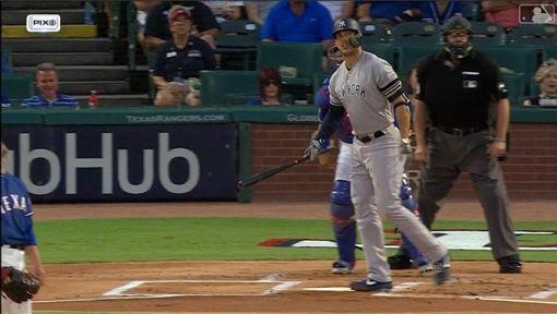 ▲史坦頓(Giancarlo Stanton)傷後復出第2彈,是洋基本季第300轟。(圖/翻攝自MLB官網)