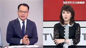 《新台灣加油》主持人廖筱君、《鄭知道了》主持人鄭弘儀。