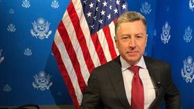美國國會命令美國駐烏克蘭特使佛克爾(圖)回答關於川普總統的彈劾調查問題後,佛克爾27日辭職。(圖/翻攝自twitter.com/SpecRepUkraine)