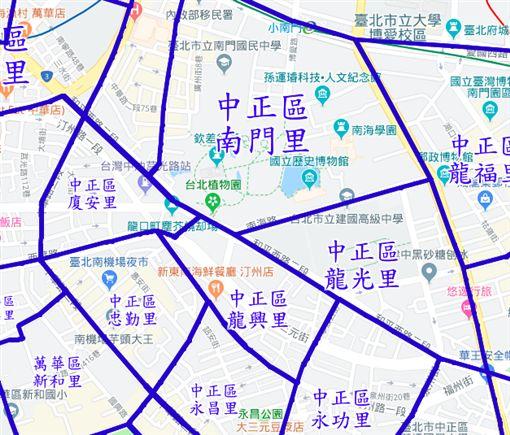 (圖/取自村里界地圖)