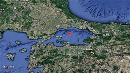 馬爾馬拉海恐有強震(圖/翻攝自Google Map)