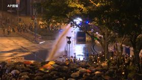0928港警驅散金鐘添馬示威(圖/AP影音)