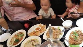小孩,餐廳,拍桌,爭執,客人 圖/翻攝爆廢公社