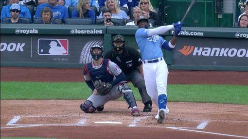 ▲索萊爾(Jorge Soler)單場雙響砲,47轟登上美聯全壘打王。(圖/翻攝自MLB官網)