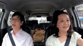 蔡壁如上「大媽老司機」 開聊被封地下市長、血滴子(圖/翻攝自大媽老司機YouTube)