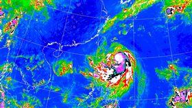 米塔颱風(翻攝自中央氣象局)