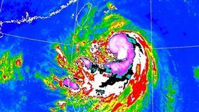 米塔颱風路徑(圖/氣象局17:30新版)