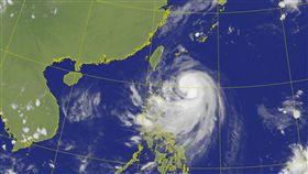 米塔颱風 (圖/翻攝自中央氣象局)