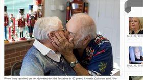 分手63年重燃愛火。(圖/翻攝自greenvilleonline News) https://www.greenvilleonline.com/story/news/2019/09/27/roanoke-virginia-high-school-sweethearts-getting-married-80-year-old/3785106002/