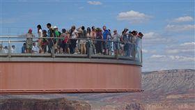 美國大峽谷國家公園,西大峽谷的天空步道驚傳墜谷輕生。(圖/翻攝自Pixabay免費圖庫)