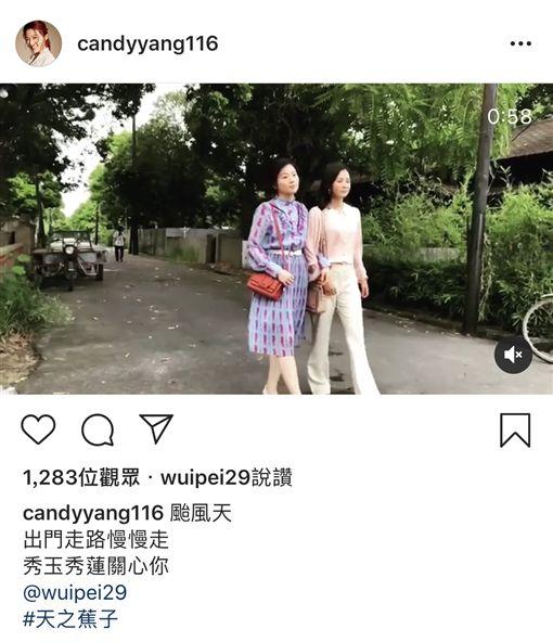 台劇女星颱風天齊宣導 (楊晴、楊小黎、方馨、王樂妍、黃文星) 翻攝IG