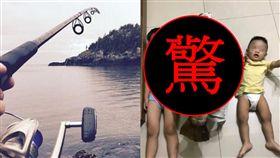 金目鱸,天然海釣場,體積,15公斤,料理,殺魚