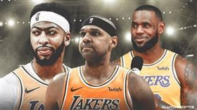 NBA/達利嗆:敢動詹皇一眉試試! NBA,洛杉磯湖人,Anthony Davis,LeBron James,Jared Dudley 翻攝自推特ClutchPoints