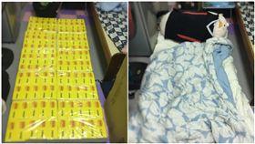 朋友來過夜!暖女自製「衛生紙床墊」…睡兩晚超推:很好睡(圖/翻攝自Dcard)