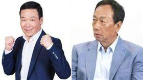 鍾小平、郭台銘(組合圖/資料照)