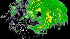 米塔颱風(圖/中央氣象局)