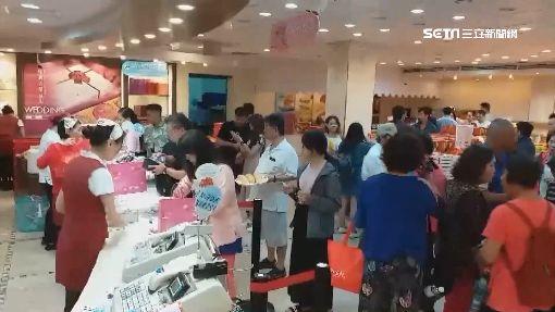 躲颱風兼購物 遊客擠爆宜蘭名產店