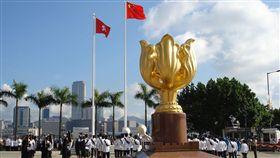 金紫荊廣場。(圖/翻攝自維基百科)